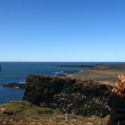 Reykjanes cliff